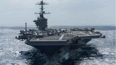 Uy lực loạt tàu chiến Mỹ rầm rập đến Biển Đông