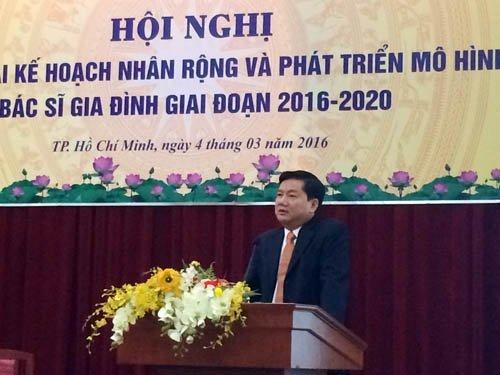 Đinh La Thăng, Bí thư Thành ủy TPHCM Đinh La Thăng, bác sĩ gia đình, Bộ trưởng Nguyễn Thị Kim Tiến