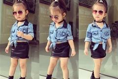 Fashionista nhí Việt 3 tuổi gây ngỡ ngàng vì style táo bạo