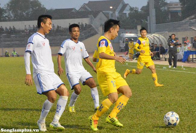 SLNA, Hữu Thắng, V.League, vòng 3 v.league, HAGL, Quảng Nam, than Quảng Ninh