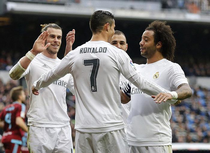 Bale, Ronaldo, Real Madrid, Celta Vigo, La Liga, HLv Zindane, bóng đá TBN