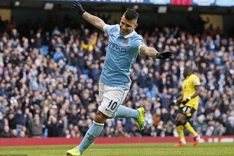 Bùng nổ hiệp 2, Man City vùi dập Aston Villa 4-0