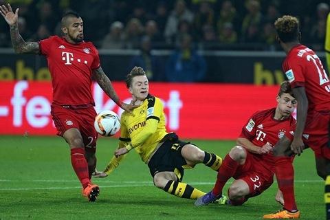 Xem trận hòa nghẹt thở giữa Dortmund và Bayern