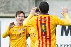 Messi sáng rực, Barca thắng kiểu hủy diệt