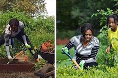 Ghé thăm vườn rau sạch của những lãnh đạo nổi tiếng thế giới