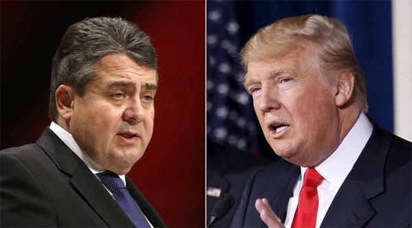 Mỹ, Donald Trump, ứng viên, bầu cử, Tổng thống, Đức, bộ trưởng, Sigmar Gabriel, Angela Merkel, bình luận, sốc, đe dọa, hòa bình, thịnh vượng, phát triển, kinh tế