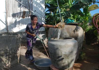 Hơn nửa triệu dân thiếu nước sinh hoạt do xâm nhập mặn