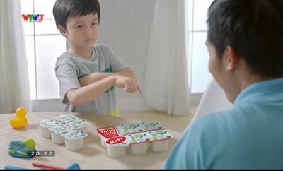 Bức xúc quảng cáo sữa  6–1=6