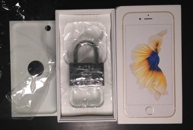 Mua iPhone 6S trực tuyến, nhận được ổ khóa