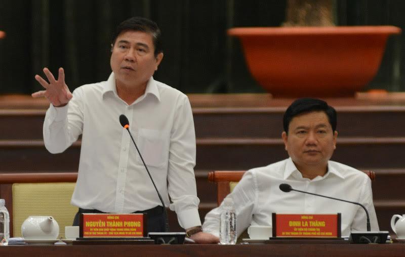 Đinh La Thăng, Bí thư Thành ủy TPHCM Đinh La Thăng
