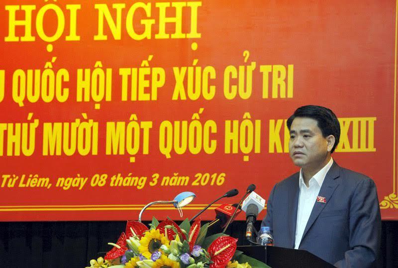 Chủ tịch HN: Có đối tượng nhận đô la từ nước ngoài đi khiếu kiện