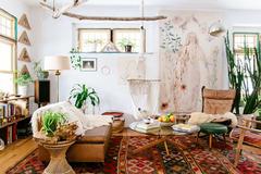 9 cách trang trí phòng khách theo phong cách Bohemian đúng điệu