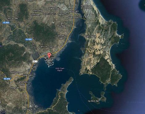 Biển Đông, Mỹ-Trung, Việt-Mỹ, Quân cảng Cam Ranh, tranh chấp lãnh thổ, South China Sea