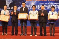 Trò trường chuyên thắng lớn cuộc thi khoa học kỹ thuật quốc gia