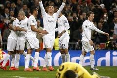 Ronaldo chói sáng, Real hùng dũng vào tứ kết