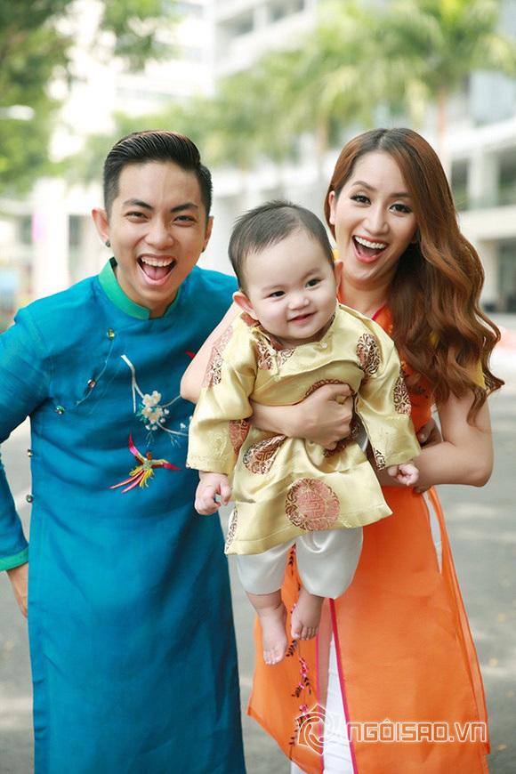 Khánh Thi nói về nỗi lo Phan Hiển ghen với Chí Anh