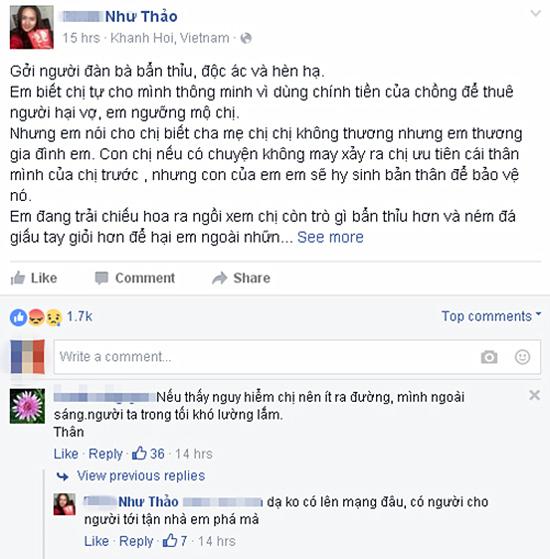 Phan Như Thảo bức xúc tố cáo 'người đàn bà' hại mình