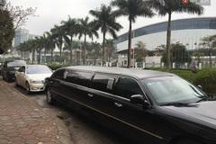 Á hậu Trà My được rước dâu bằng đoàn xe limousine hoành tráng