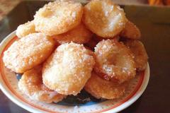Cách làm bánh rán tẩm đường hút nghìn chị em