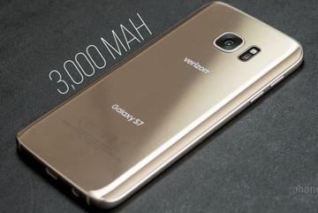 Pin Galaxy S7 thua cả S6, iPhone 6s