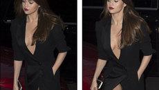 Người đẹp 23 tuổi diện váy xẻ sâu hun hút