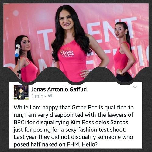 Thí sinh Hoa hậu bị loại vì ảnh mát mẻ