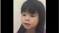 Bé 5 tuổi kể chuyện cổ tích tiếng Anh