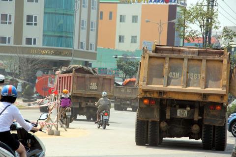 Xe ben trên địa bàn Đà Nẵng