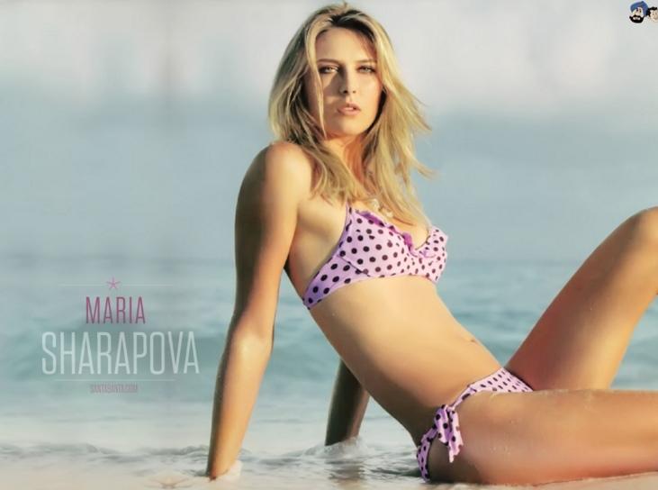 Ngắm vẻ đẹp xưa nay hiếm của 'búp bê' Sharapova