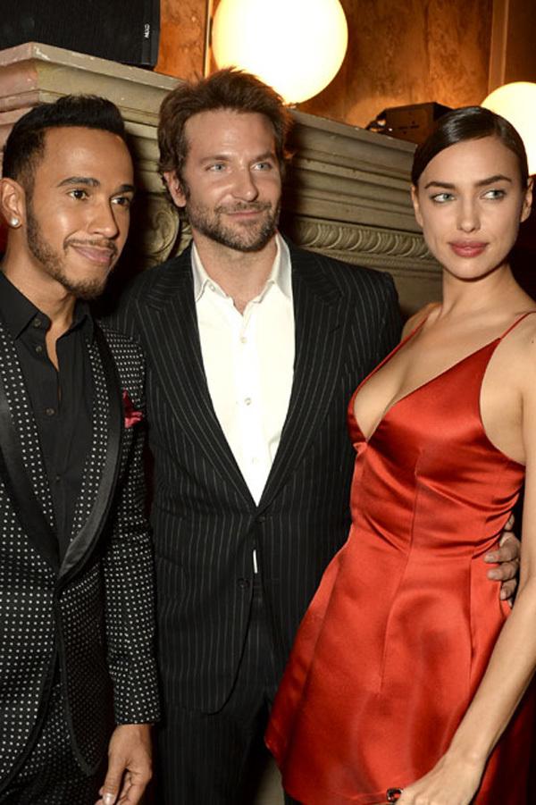 Xóa tin đồn, Irina khóa môi Bradley Cooper trước ống kính