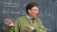 """Cách học """"chơi trội"""" của Bill Gates ở Harvard"""