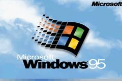 Phản ứng thú vị của 9x khi sử dụng Windows 95