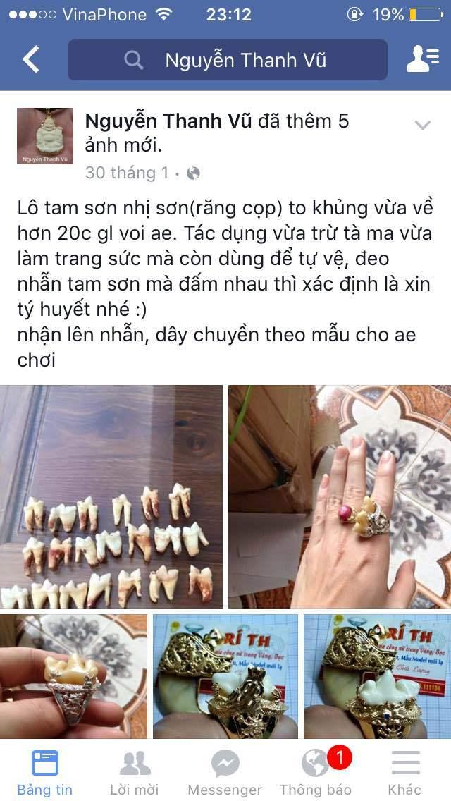 buôn bán, động vật, thú rừng, facebook, Kon Tum