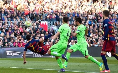 Neymar lập cú đúp, Barca lại thắng kiểu tennis trước Getafe
