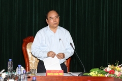 Phó Thủ tướng Nguyễn Xuân Phúc kiểm tra công tác chuẩn bị bầu cử
