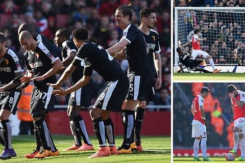 Video: Arsenal 1-2 Watford