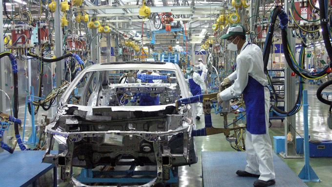 Đề nghị giảm thuế tiêu thụ đặc biệt với ô tô