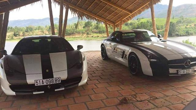 Bộ siêu xe số 1 Việt Nam của tỷ phú Đặng Lê Nguyên Vũ
