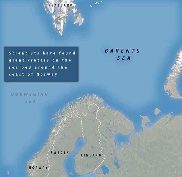 Tam giác quỷ, Bermuda, bí ẩn, dị thường, mất tích, Bắc cực, biển Barents