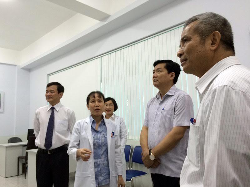 Bộ trưởng Y tế, Bí thư Đinh La Thăng,bí thư thành ủy TP.HCM