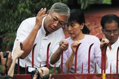 Cựu tài xế của bà Suu Kyi sẽ là Tổng thống Myanmar?