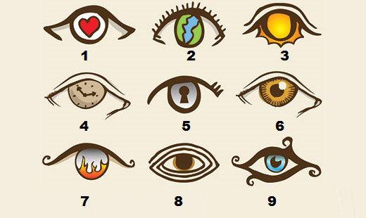 Kiểu mắt tiết lộ sự thật về tính cách bạn