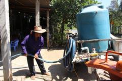 Hạn, mặn: Dân Bến Tre mua nước giá cắt cổ