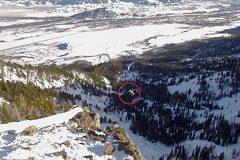 Những pha trượt tuyết nhào lộn lao thẳng xuống vực