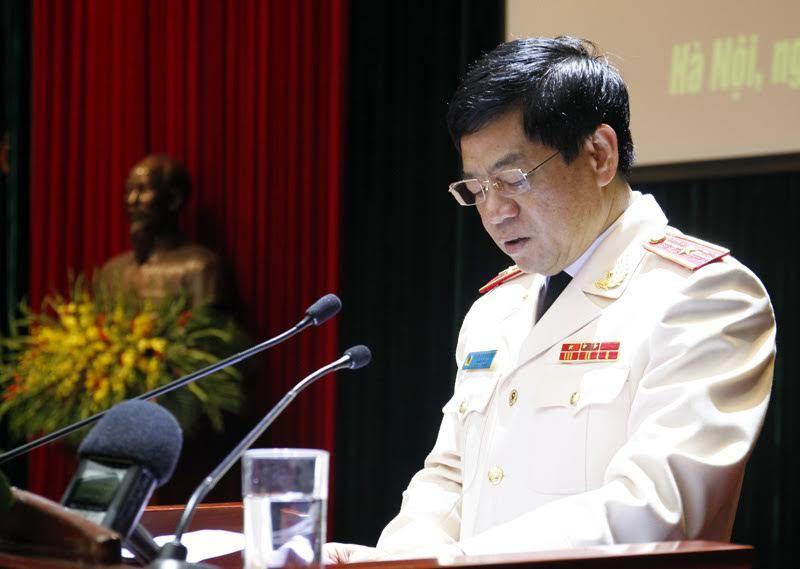 Giám đốc công an Hà Nội, Thiếu tướng Đoàn Duy Khương, bộ trưởng công an, trần đại quang