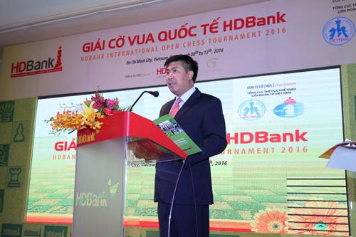Cờ vua quốc tế HDBank: 'Hạnh phúc được đóng góp'