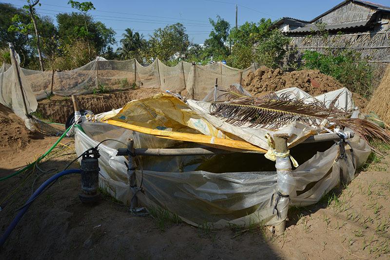 Hút nước giữa khô mặn: Chưa hết khát, lo sụt đất