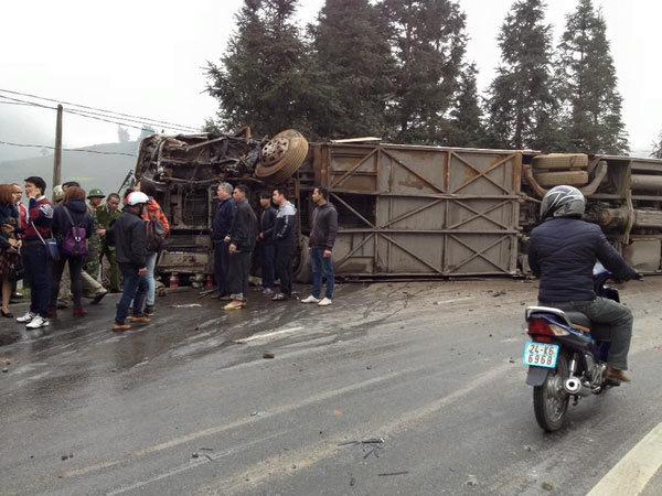 tai nạn giao thông, Sa Pa