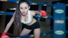 """""""Chảy máu mũi"""" với bộ ảnh Boxing Girl táo bạo và nóng bỏng: Wendy Minh Hồng"""