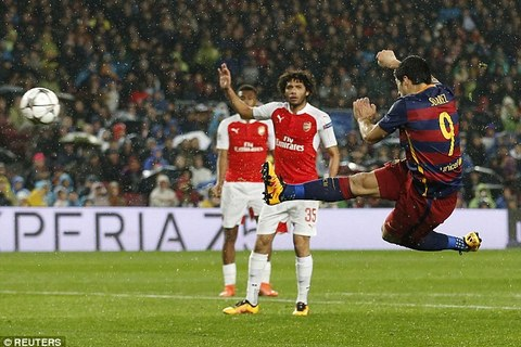 TOP 5 bàn thắng đẹp nhất vòng 1/8 C1 châu Âu